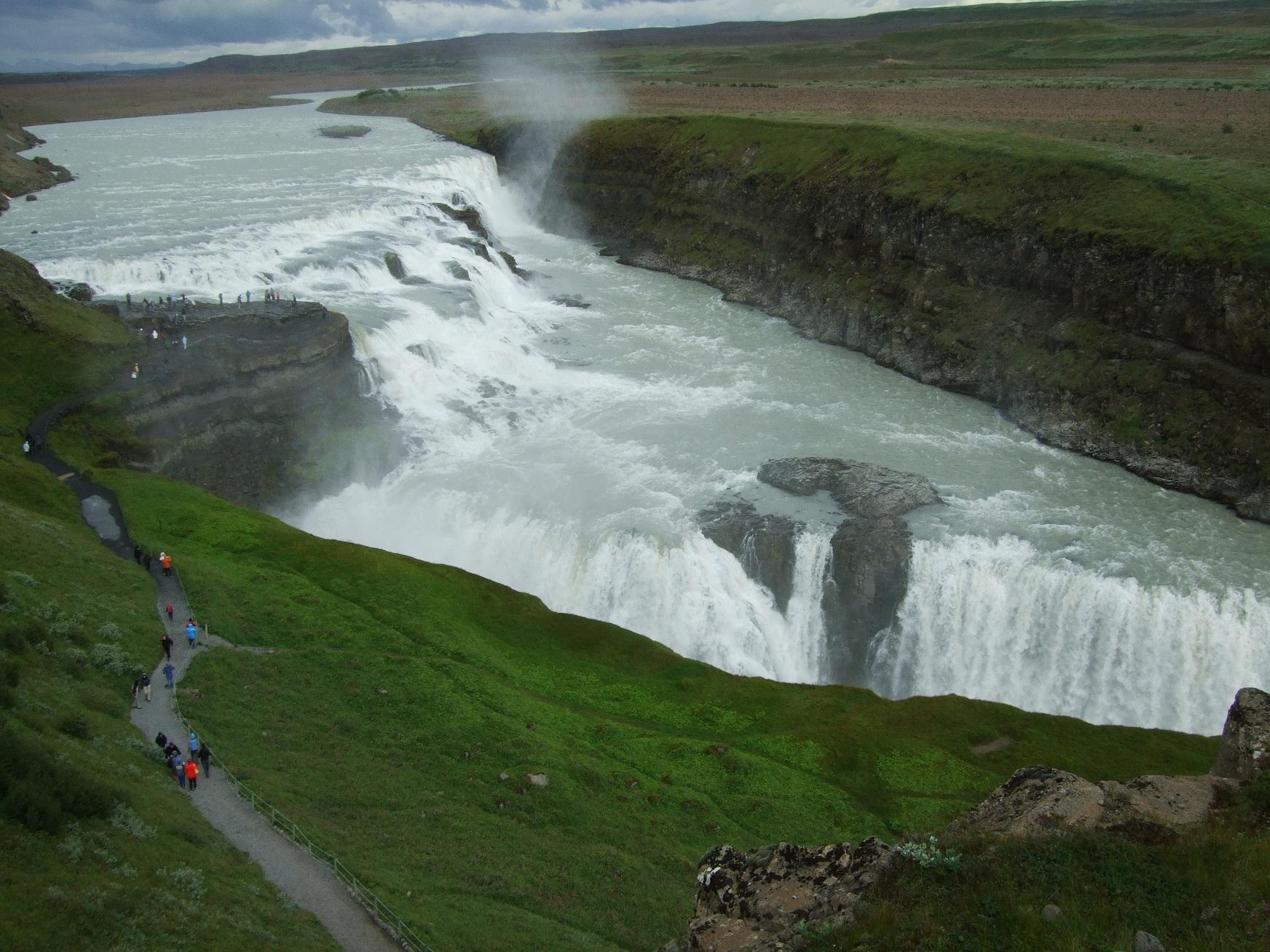 Camping Iceland Gulfoss