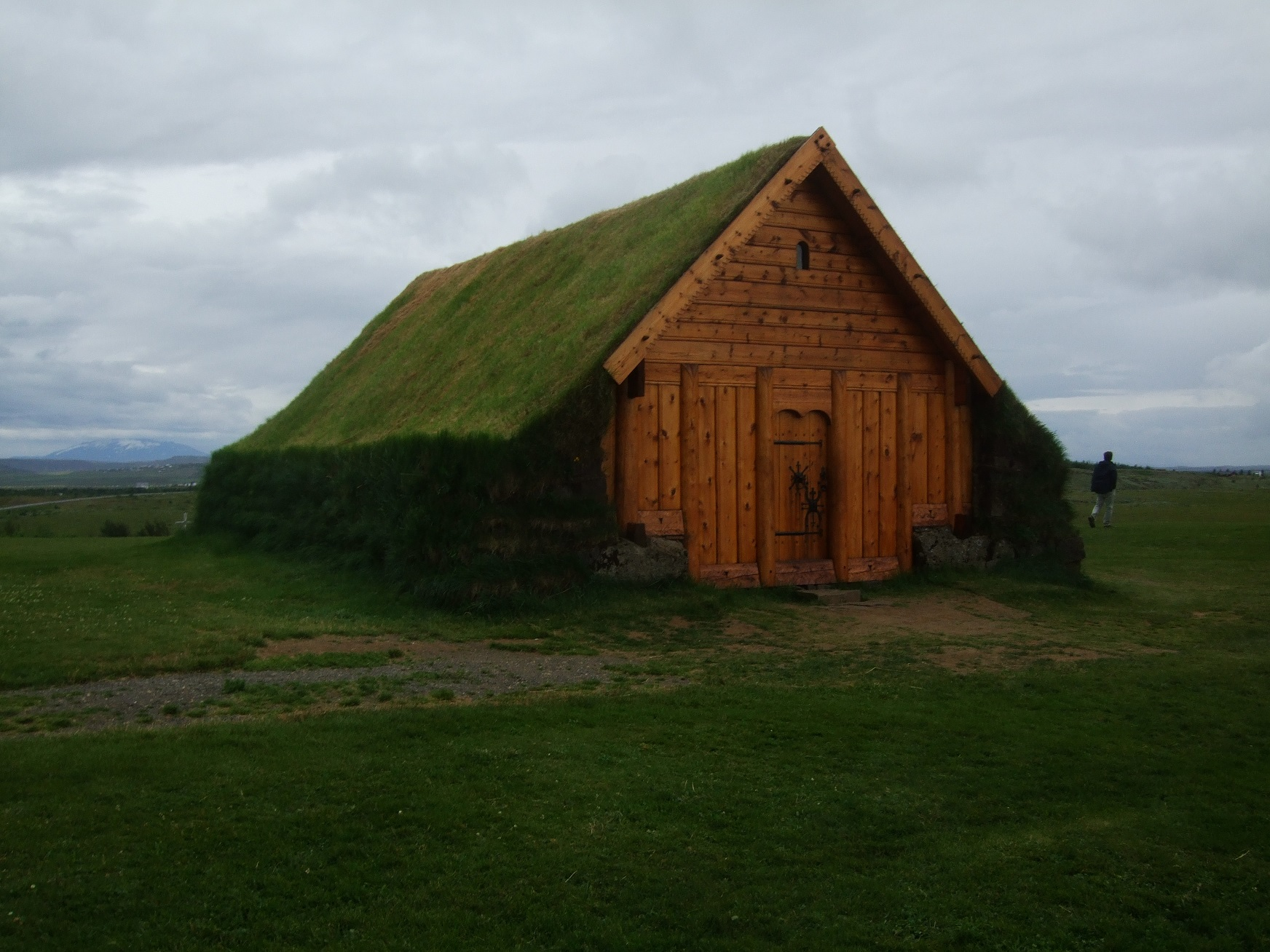 Wild Camping Iceland Chapel